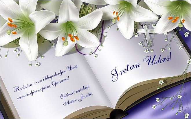 elektronske čestitke za uskrs Općina Oprisavci elektronske čestitke za uskrs